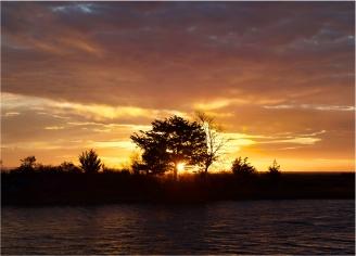 Dramatic sunset   Assateague, Maryland