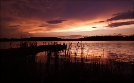 Sunset at Marsh Creek   Pennsylvania